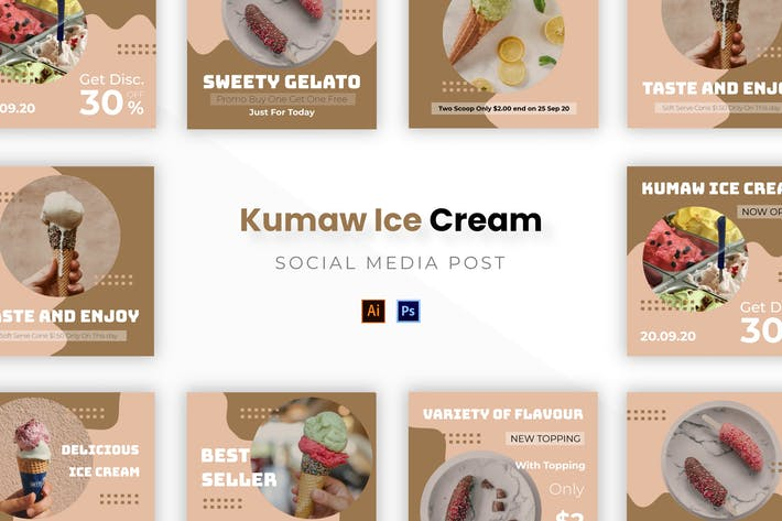 Thumbnail for Kumaw Ice Cream Socmed Post