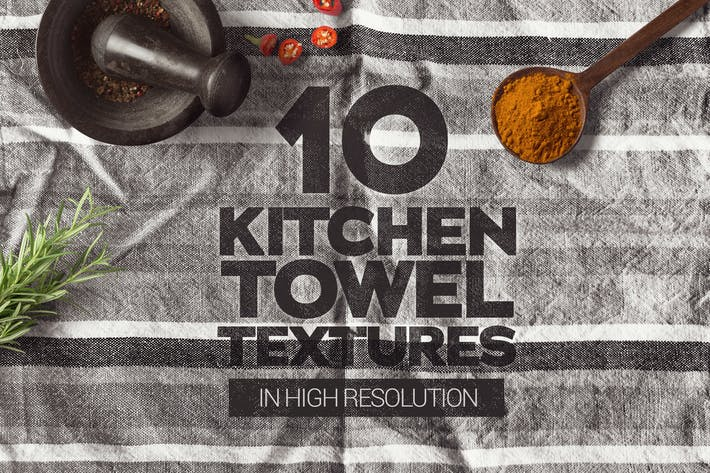 Thumbnail for Kitchen Towel Textures x10