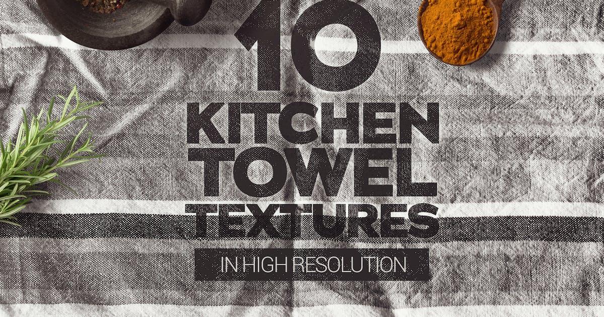 Download Kitchen Towel Textures x10 by SmartDesigns_eu
