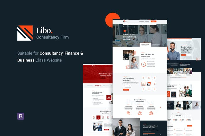 Libo - Consulting Business HTML Template