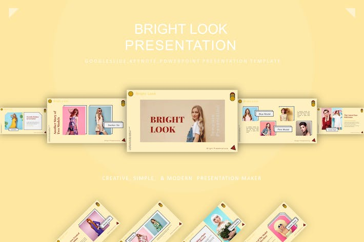 Thumbnail for Bright Look Presentation Template