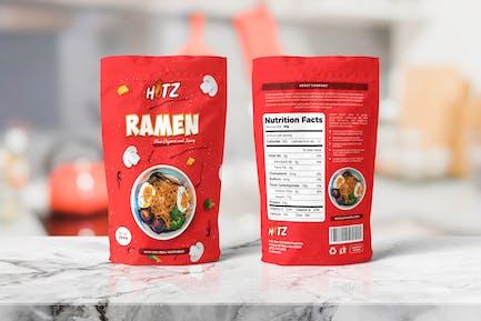 Lebensmittelbeutel VerpackungsVorlagen