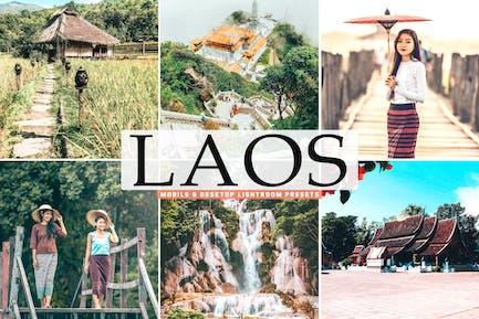 Laos Mobile & Desktop Lightroom Presets