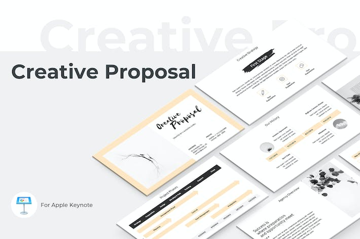 Thumbnail for Creative Proposal Keynote Template