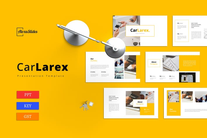 Thumbnail for Carlarex - Business Presentation Template