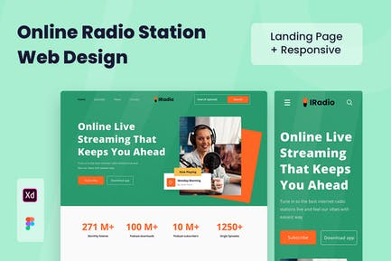 Radio Station Web Design