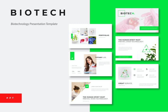 Thumbnail for Biotech - Biotechnology Powerpoint Template