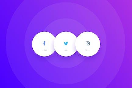 Social Kit-Buttons