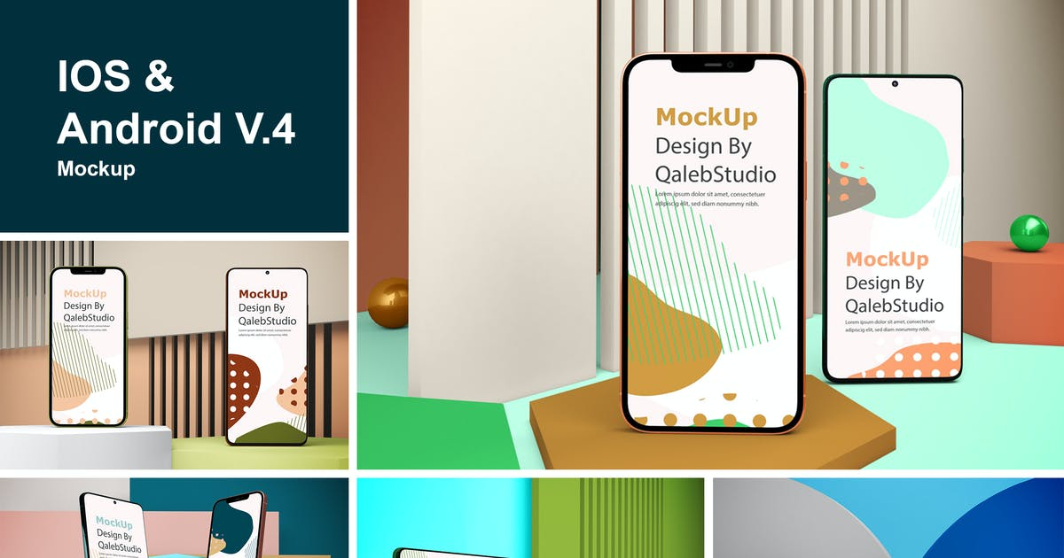 Download IOS & Android V.4 by QalebStudio