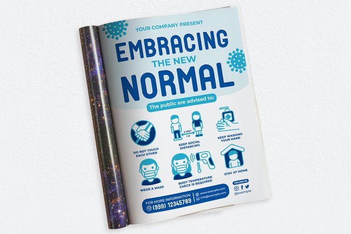 Thumbnail for Embracing The New Normal Ads Magazine