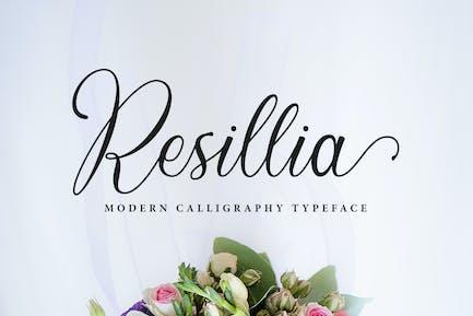 Resillia Script