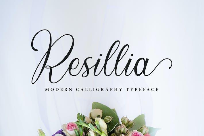Thumbnail for Resillia Script