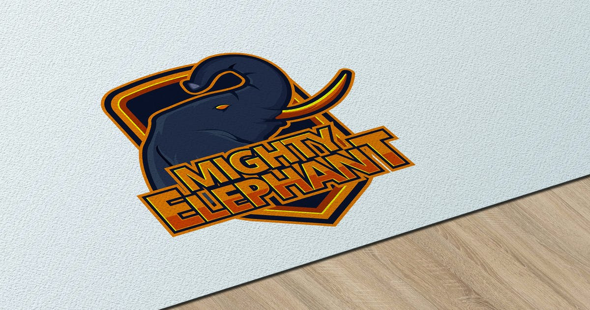 Download Mighty Elephant eSport - Logo Template RB by Rometheme
