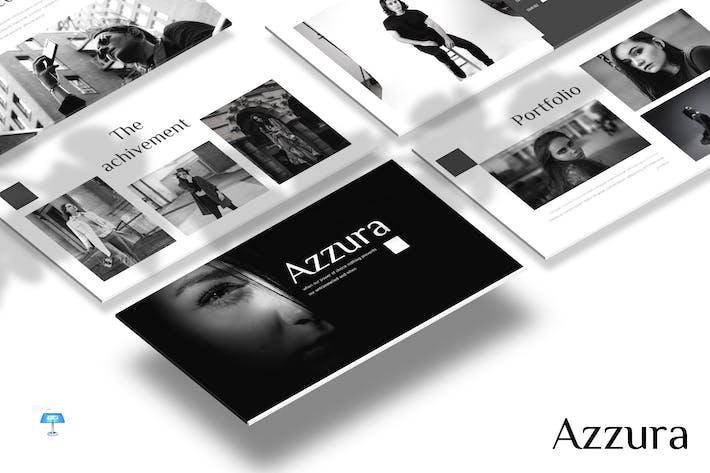 Thumbnail for Azzura - Keynote Template