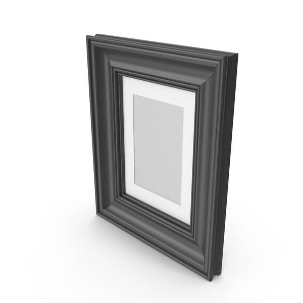 Wooden Picture Black