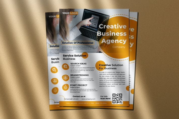 Thumbnail for Creative Agency Flyer