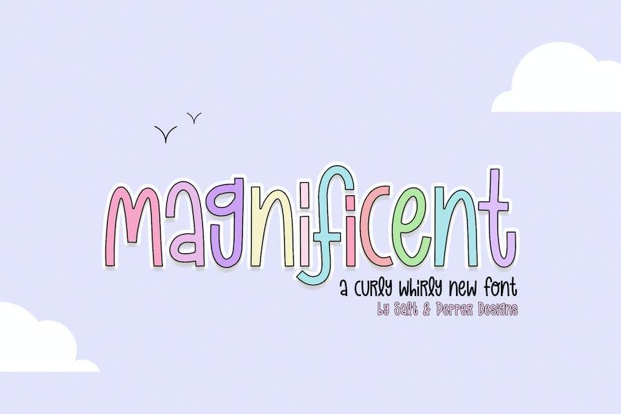Magnificent Font Duo
