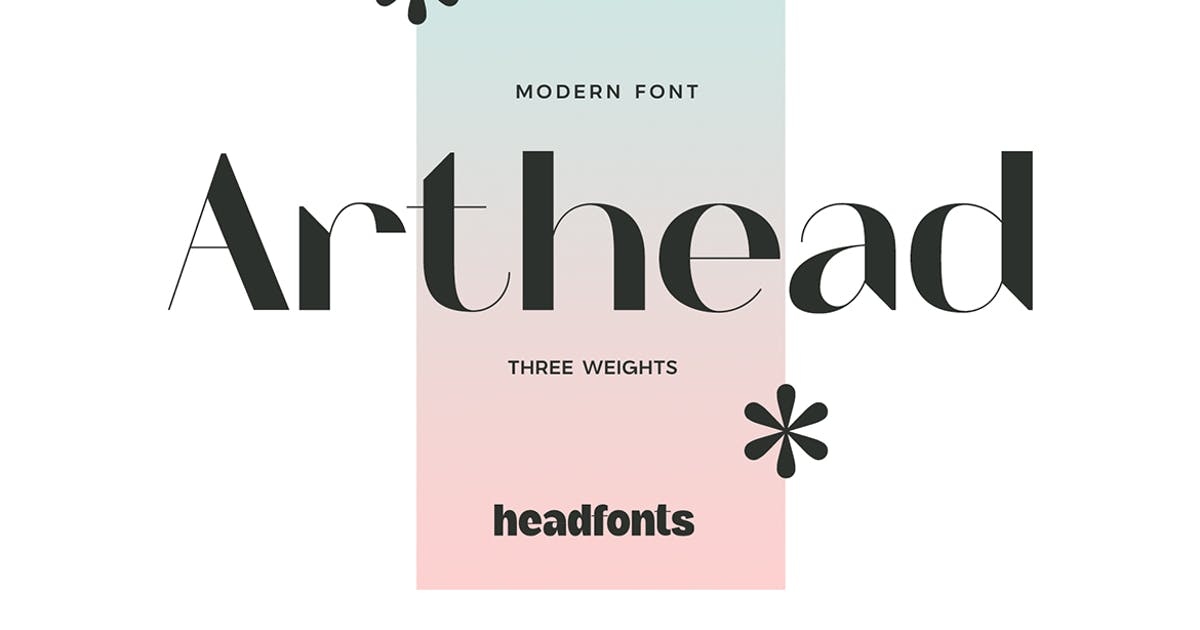 Download Arthead Modern Sans Serif by Mihis_Design