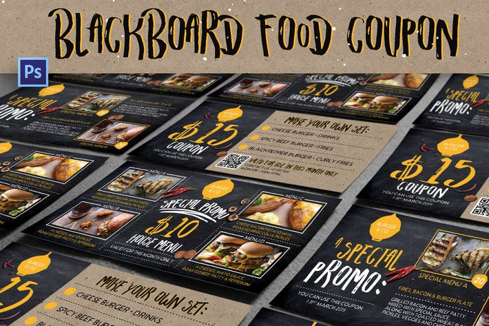 Thumbnail for Blackboard Food Coupon