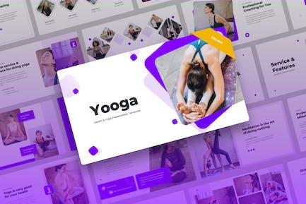 Yooga - Yoga Google Slides Presentation