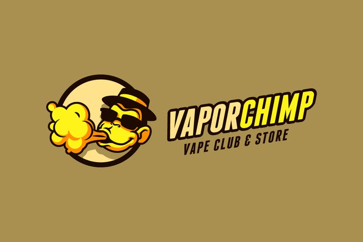 Thumbnail for Vapor Chimp - Vape E-Cigarette Logo
