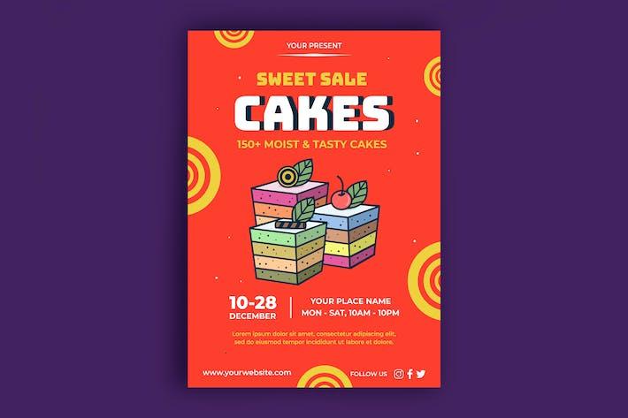 Kuchen-Poster