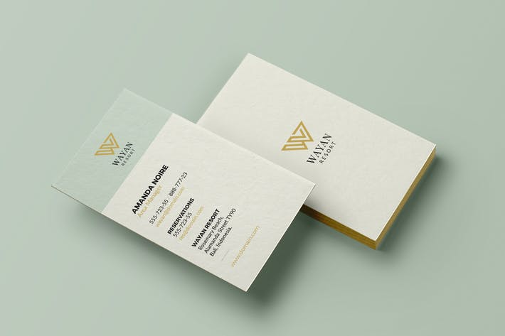 Thumbnail for Hotel & Resort Business Card