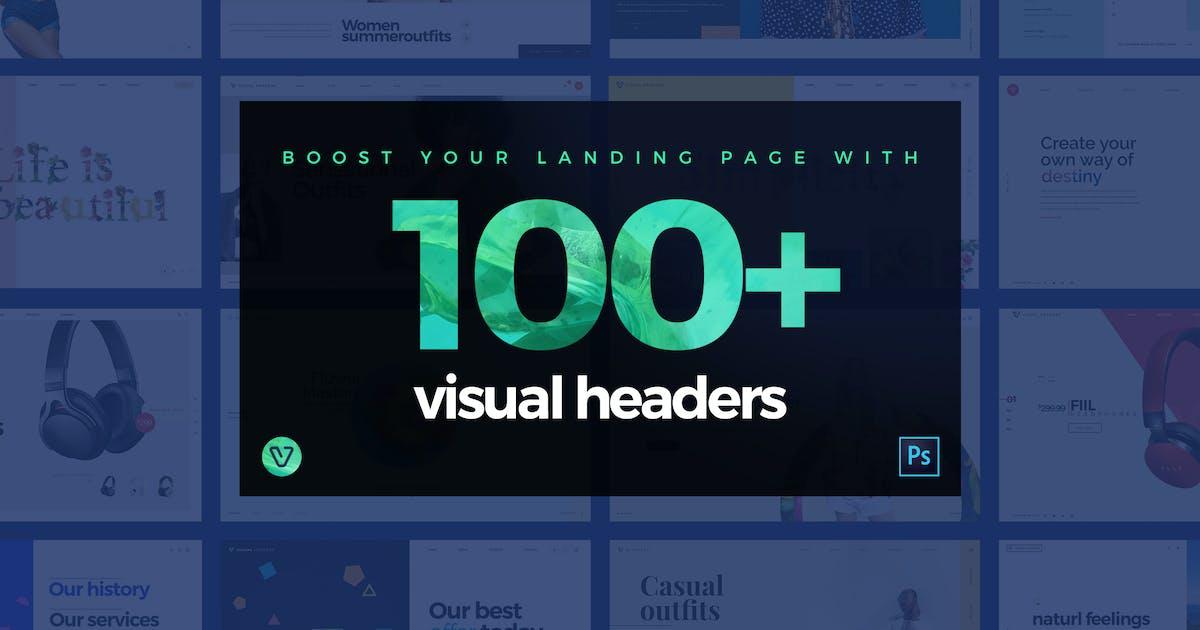 Download 100 Visual Website Headers by KL-Webmedia